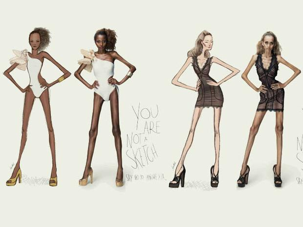 Campaña You are not a sketch -Brasil-