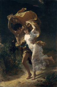 The storm, de Pierre Auguste Cot. 1880
