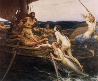 Herbert James Draper, Ulises y las sirenas. 1909