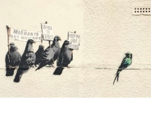 Banksy (Aves racistas)