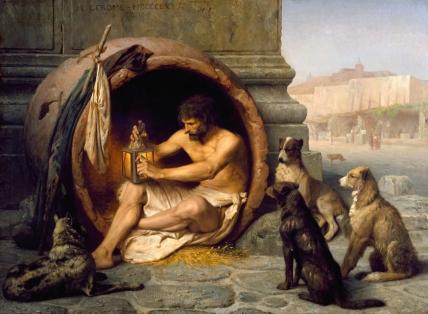 Jean-Léon Gérôme -Diógenes