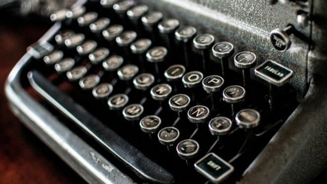 Máquina-de-escribir-antigua