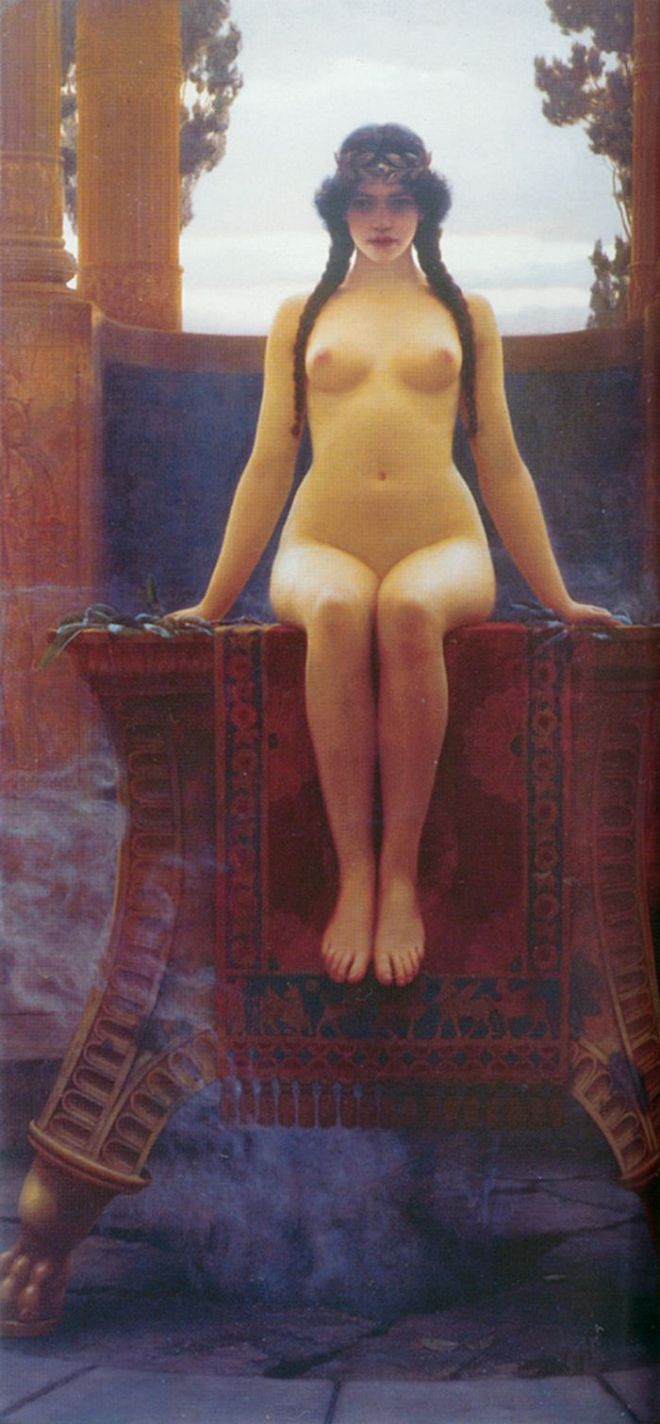 Godward,_L'Oracle_de_Delphes,_1899_(5613762473)