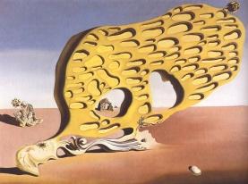 El enigma de mi deseo o mi madre mi madre mi madre1929-Salvador Dali