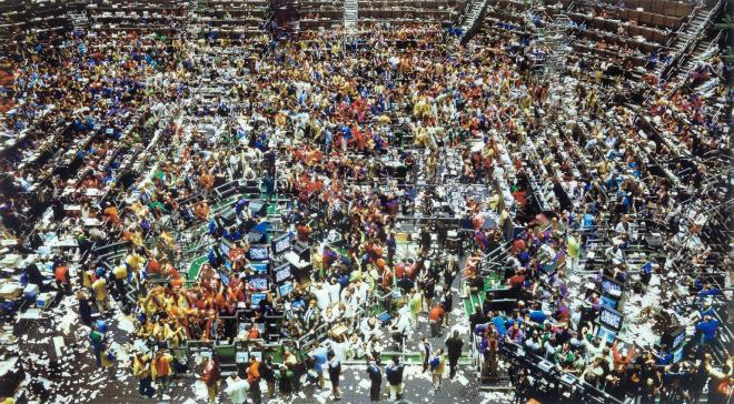 Chicago, Board of Trade II 1999 by Andreas Gursky born 1955