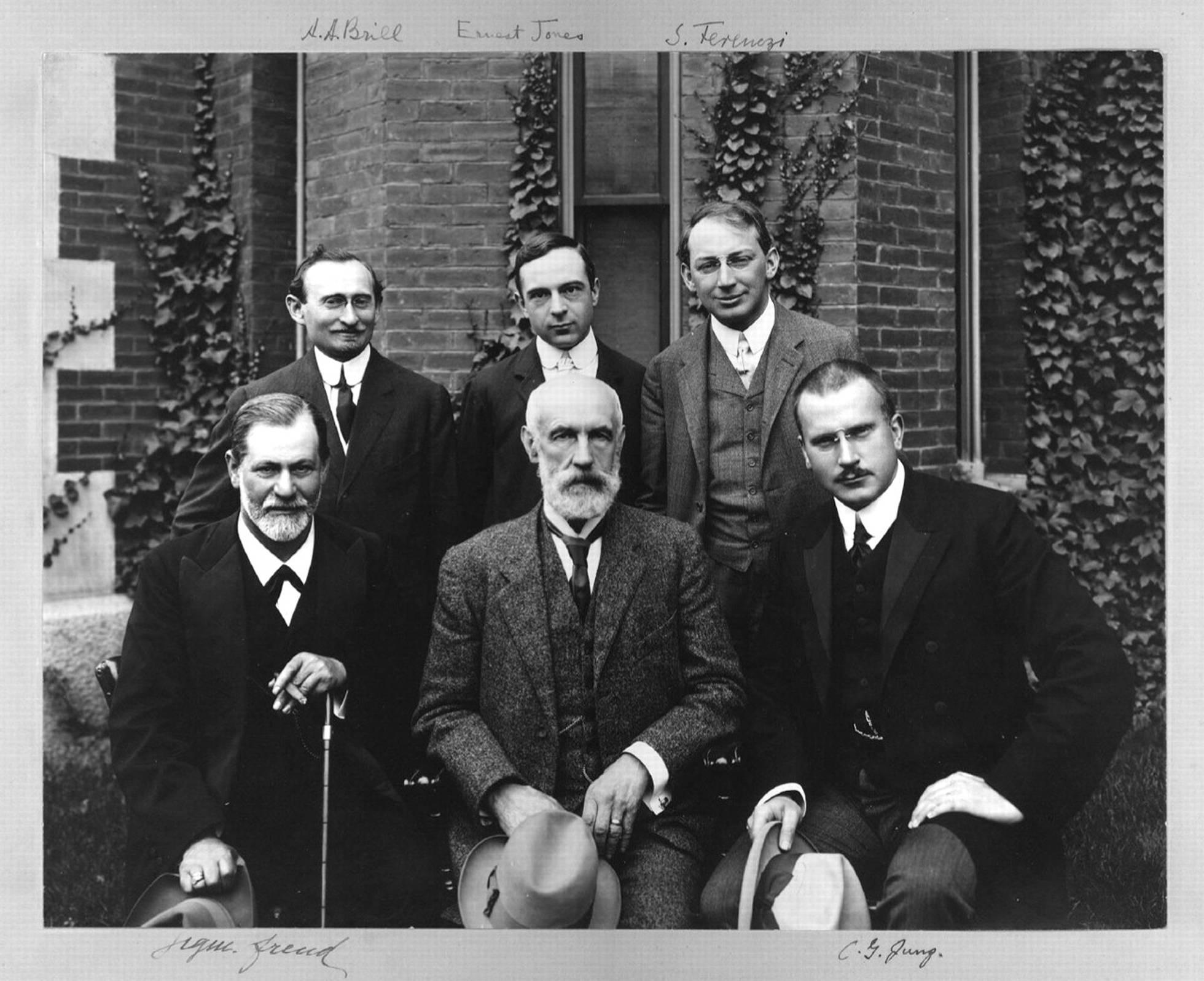 Freud, Jung, Ferenczi, Jones