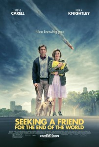 Seeking a friend for the end of the world -póster-