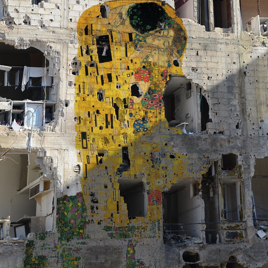 El beso en Siria Tammam Azzam