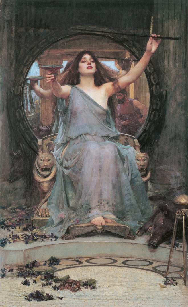 Circe, by John William Waterhouse
