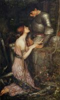 Lamia, John William Waterhouse [Public domain], via Wikimedia Commons