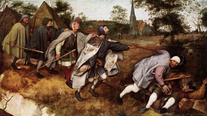 La parábola de los ciegos Brueghel