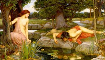 Eco y Narciso, 1903, John William Waterhouse