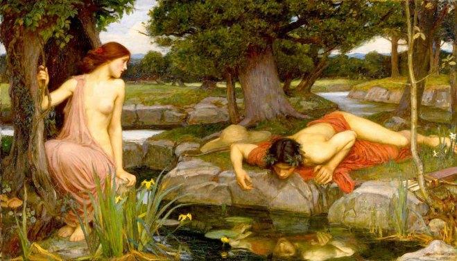 Eco y Narciso John William Waterhouse