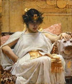 Cleopatra, John William Waterhouse, 1888.