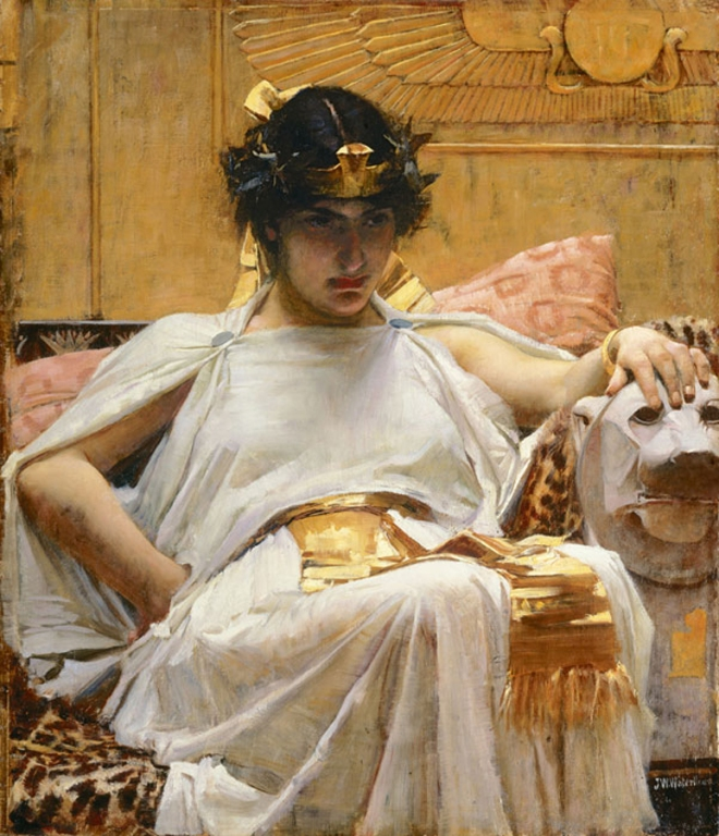 cleopatra_-_john_william_waterhouse