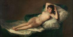 Francisco de Goya, La maja desnuda, 1795-1800
