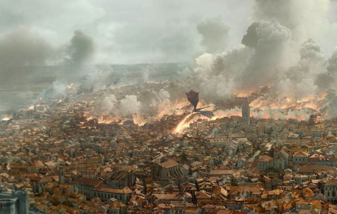 got Kings Landing quemada